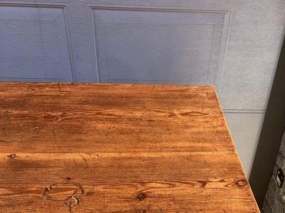 Banco negozio primi '900 restaurato in larice massello – cod. 1037