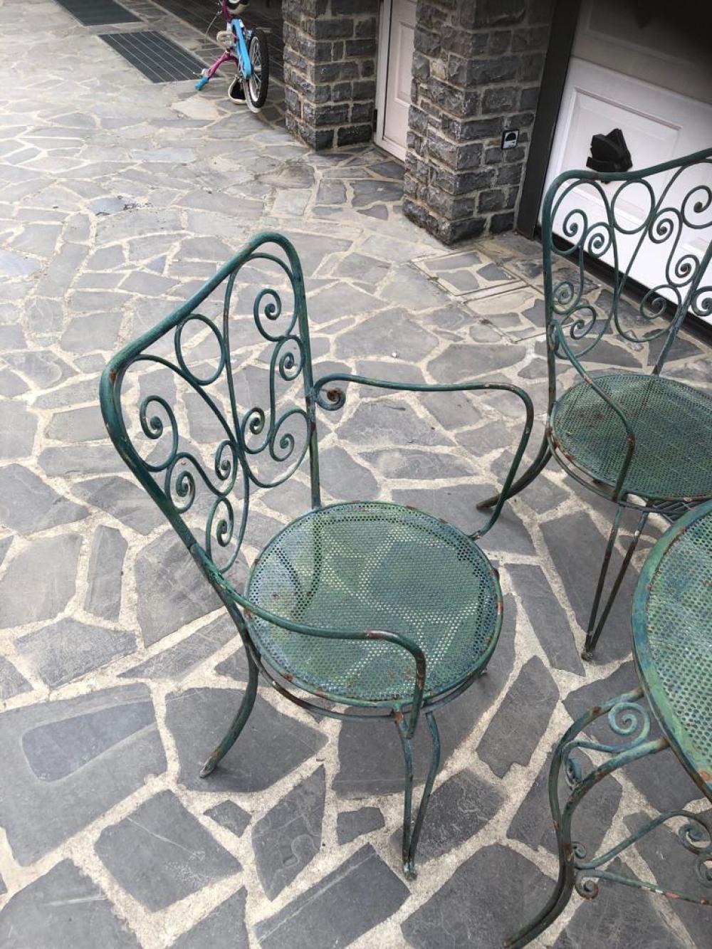Salottino da giardino tavolo e poltroncine – cod 1258