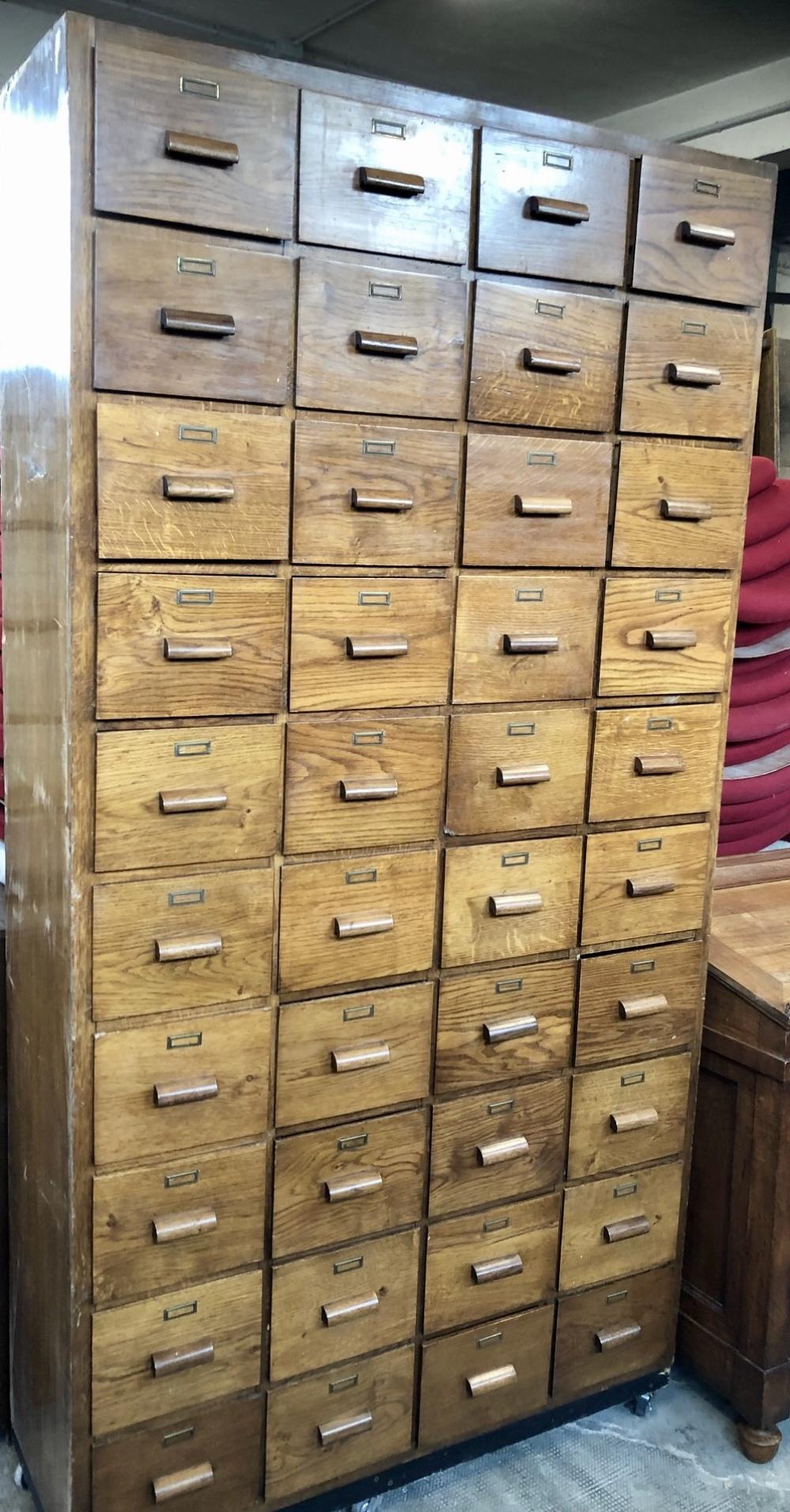 Mobile cassettiera rovere massello – cod.1278
