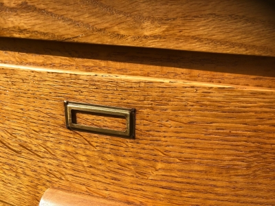 Cassettiera restaurata anni '40 – cod. 1305
