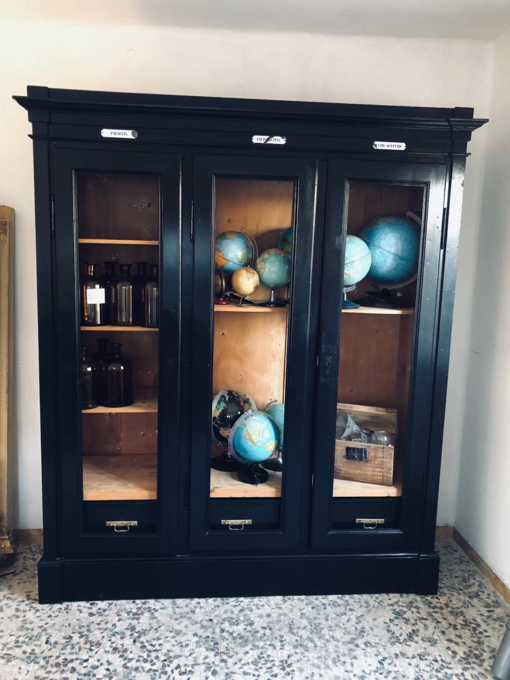 Vetrina laboratorio restaurata – cod.1459