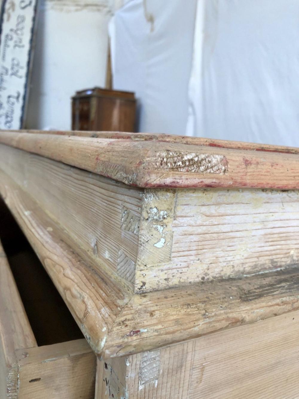 Bancone espositore fine 800, abete – cod.1481