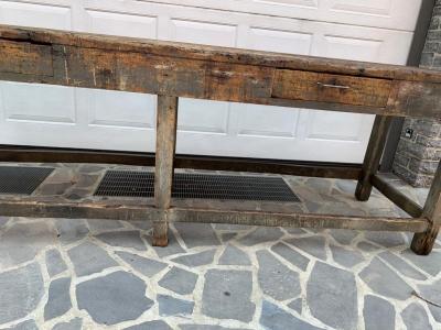 Tavolo tavolone bancone da lavoro – cod. 1527
