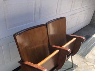 Poltrone sedie da cinema in legno – cod.1715