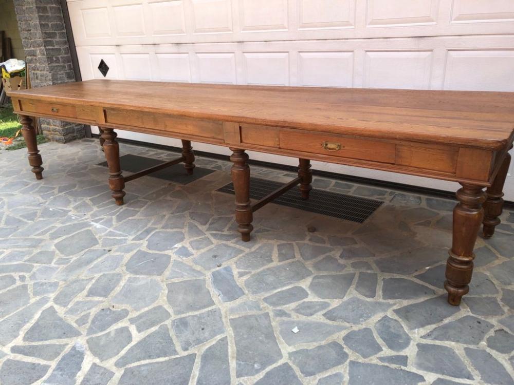 Tavolo tavolone primi 900 – 8 gambe – cod.1751