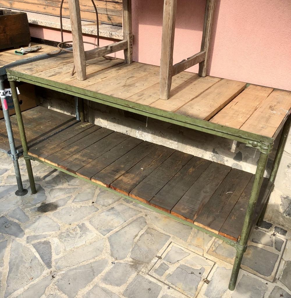 Scaffali scaffalature vintage industriali – cod.1767